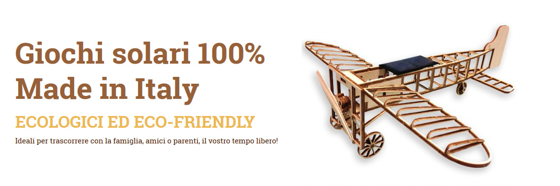 Giochi solari 100% Made in Italy